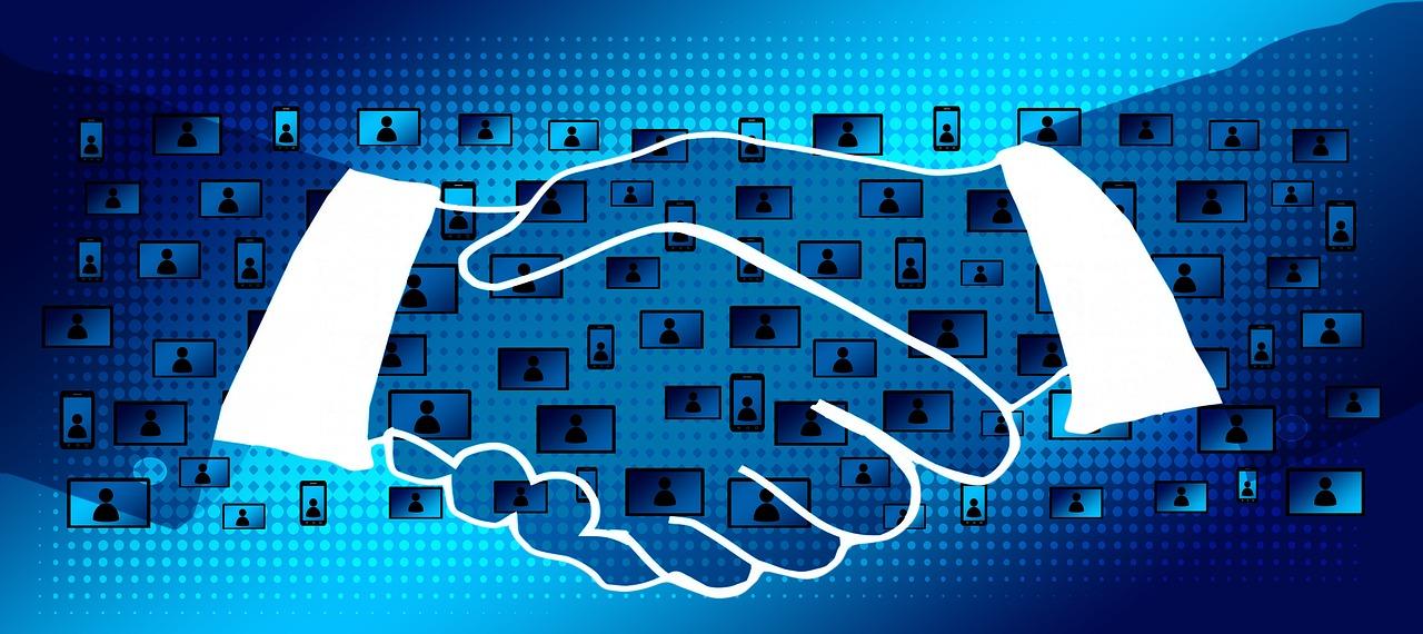 blockchain, handshake, shaking hands-2853046.jpg